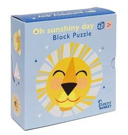 Petit Monkey block puzzle 'oh shiny day'