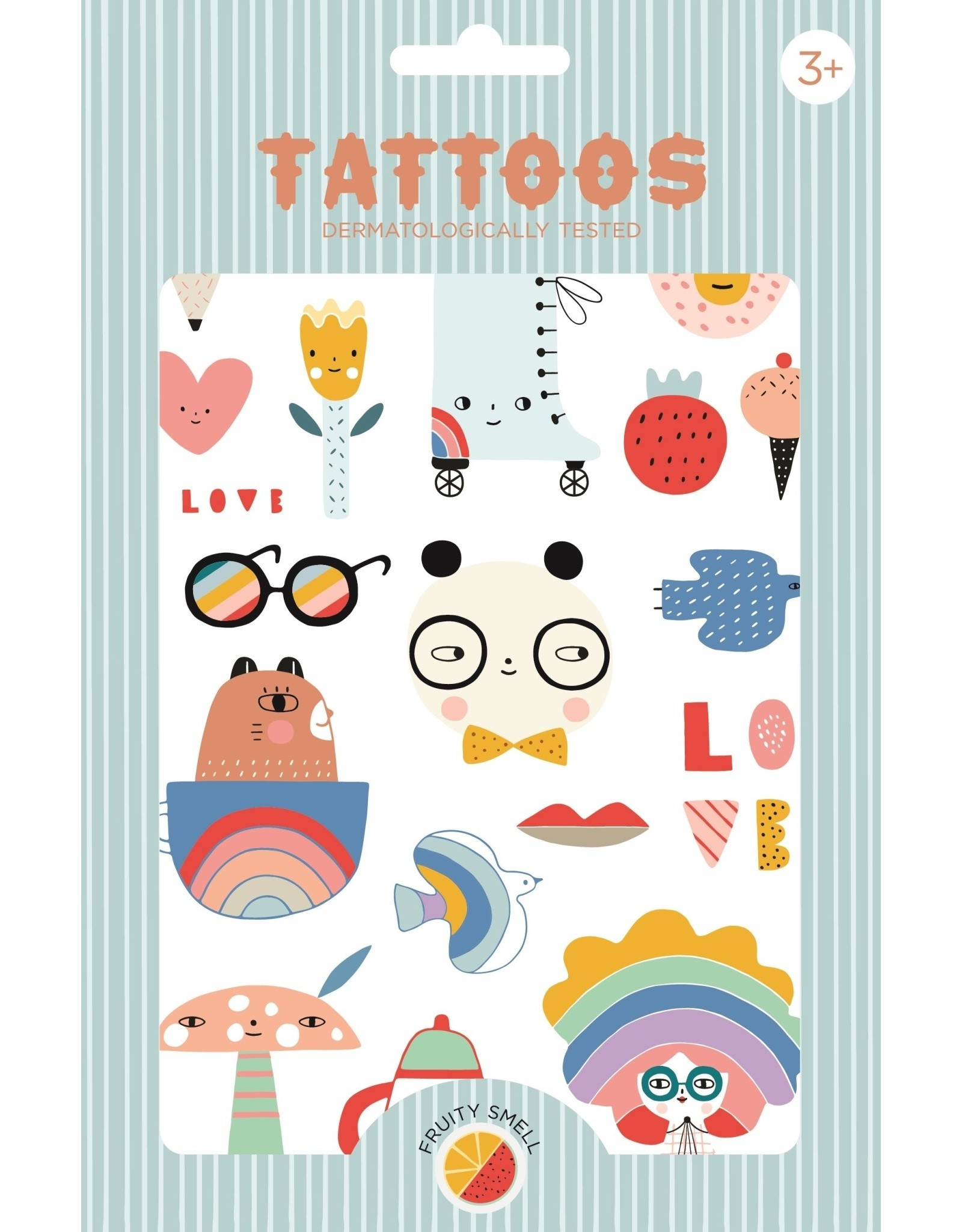 Petit Monkey tattoos Panda Love