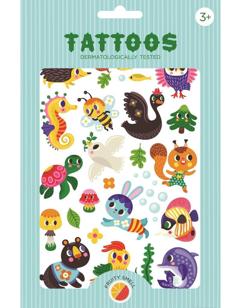 Petit Monkey tattoos We Are Family
