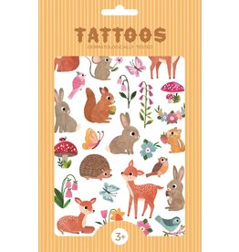 Petit Monkey tattoos Woodland Friends