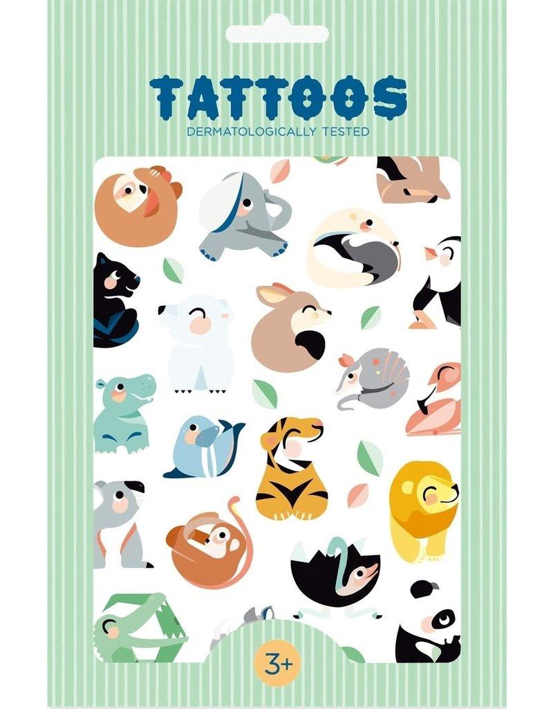 Petit Monkey tattoos Wild Animals