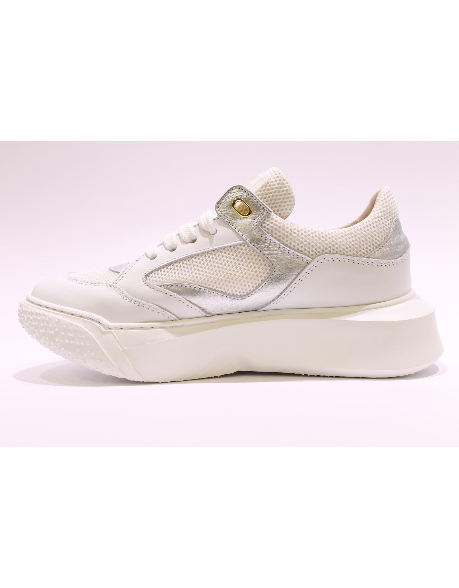 Andrea Morelli sneaker wit/zilver
