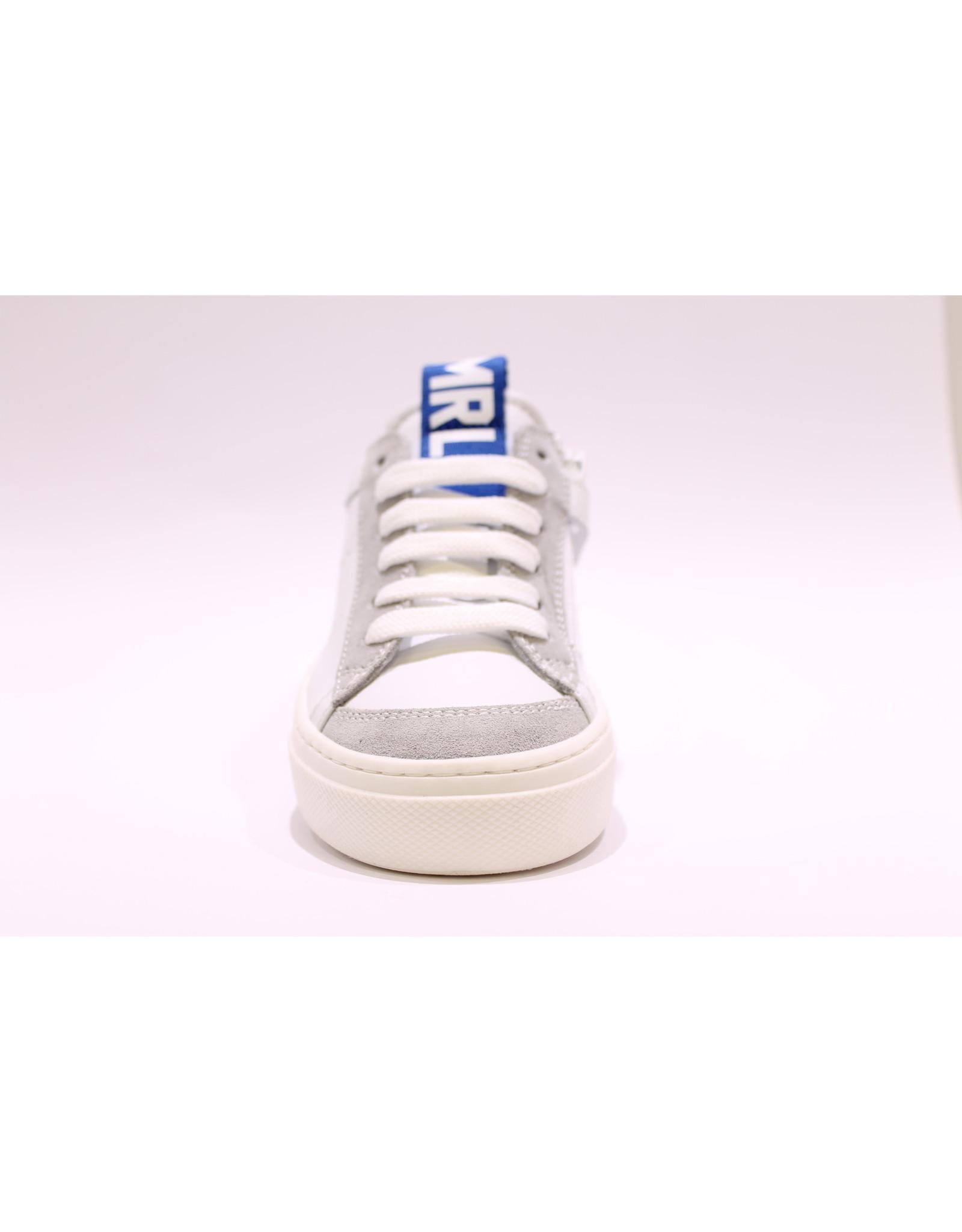Andrea Morelli sneaker wit/grijs/blauw