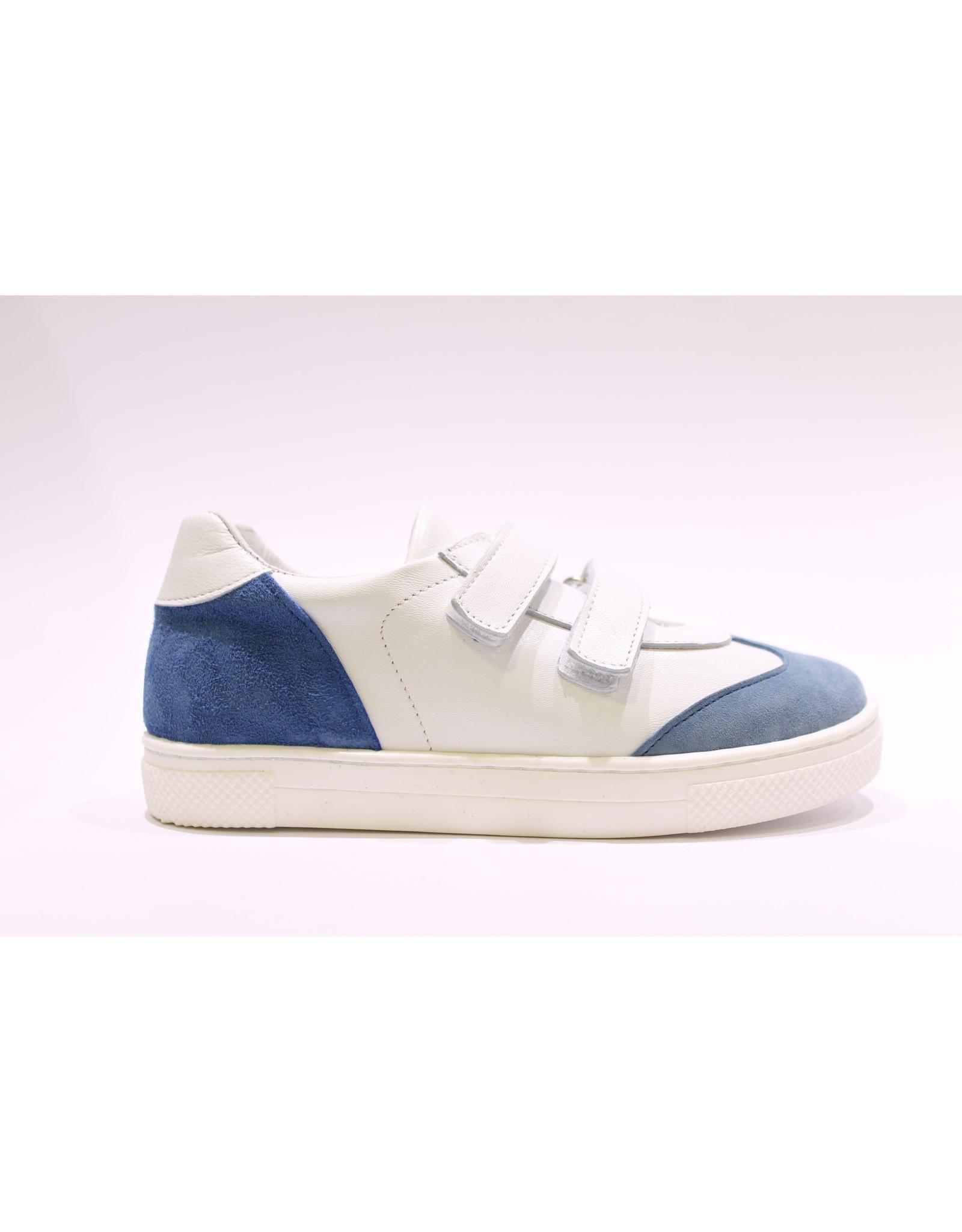Baci velcro wit/blauw