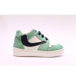 Rondinella sneaker hoog groen/wit