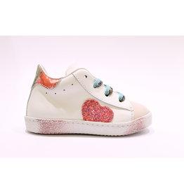 Rondinella sneaker wit hart