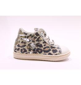 Rondinella sneaker wit leopard
