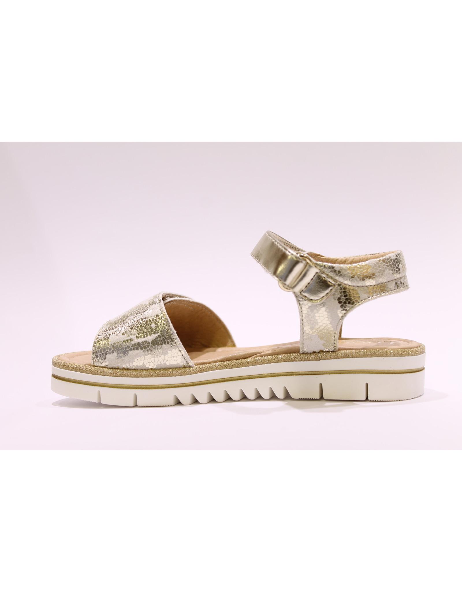 Lunella sandaal goud vlek