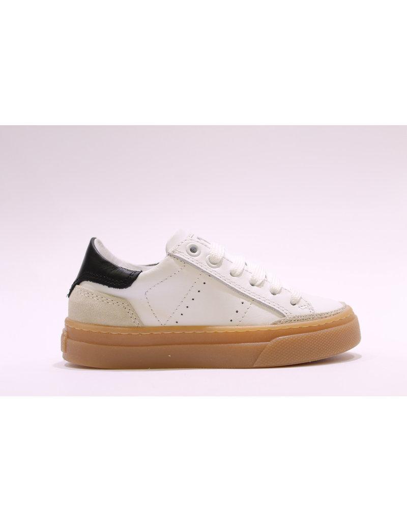 Andrea Morelli sneaker wit/beige/zwart