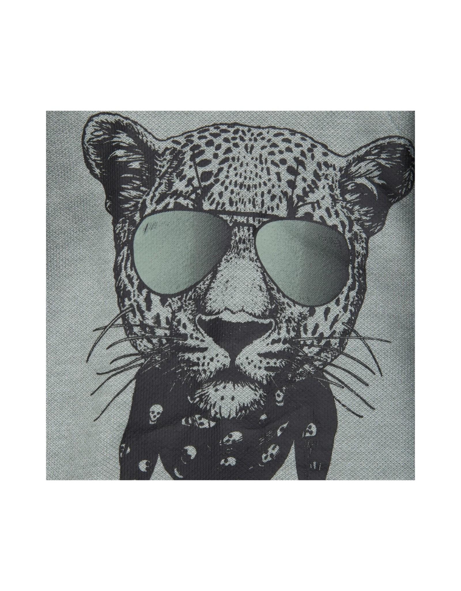Petit by Sofie Schnoor trui groen tijger