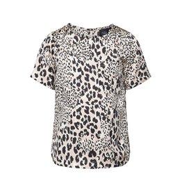 Petit by Sofie Schnoor t-shirt roze luipaard
