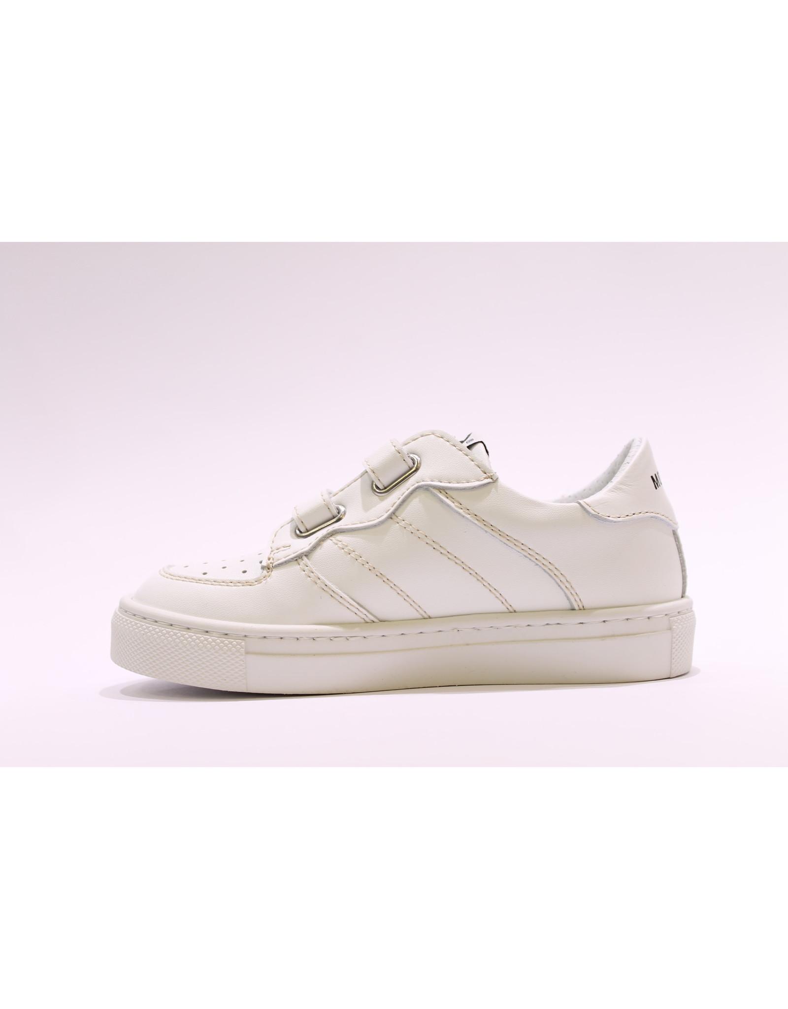 Momino sneaker laag wit velcro