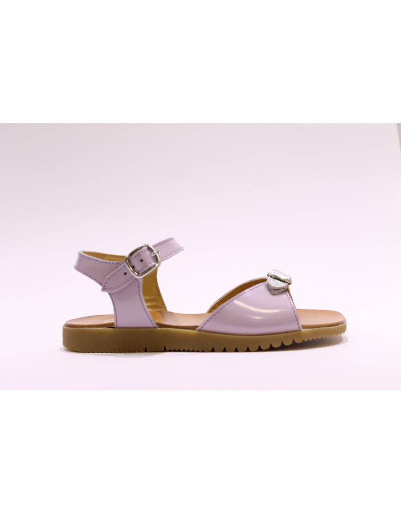 Gallucci sandaal lila/zilver