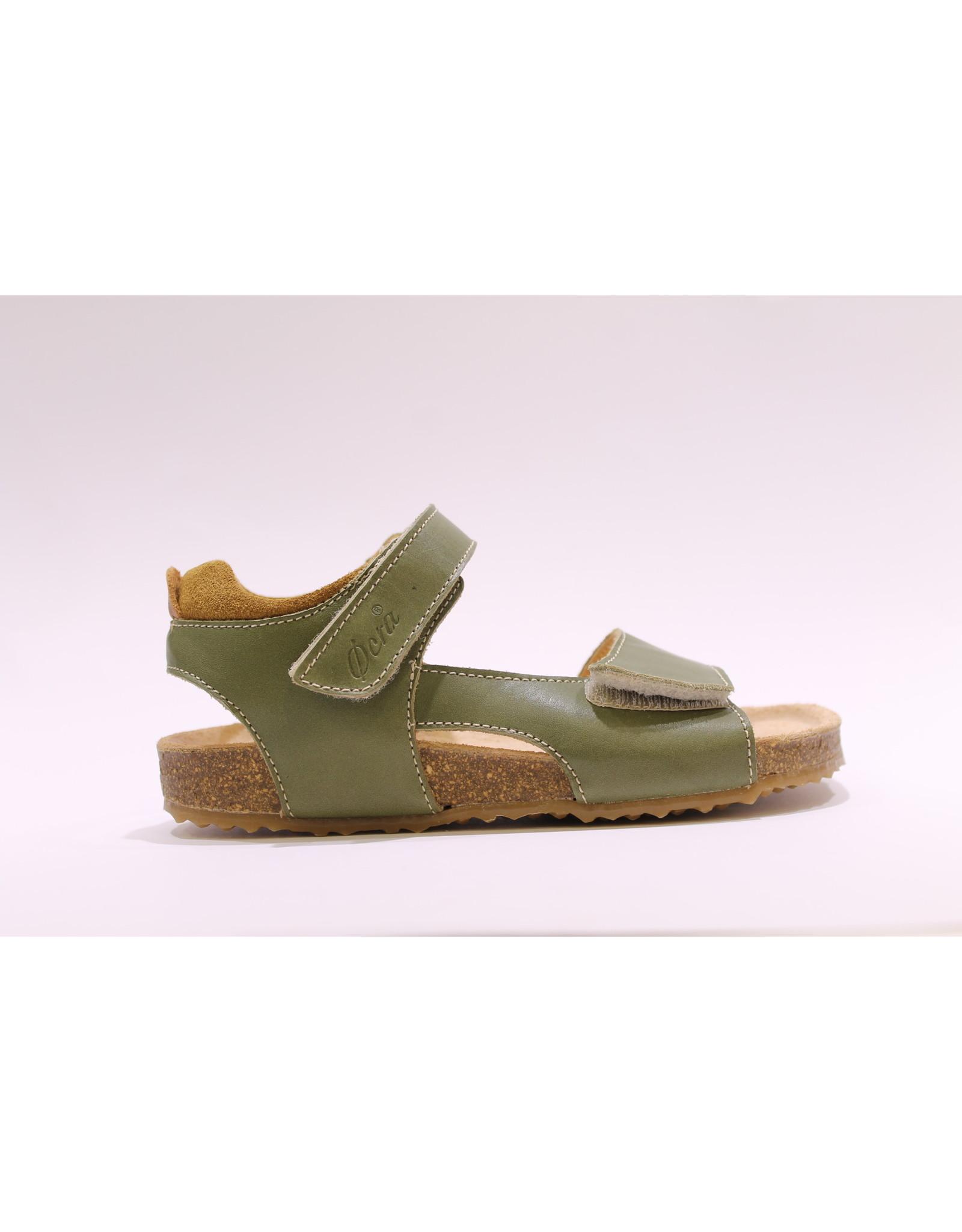 Ocra sandaal kaki