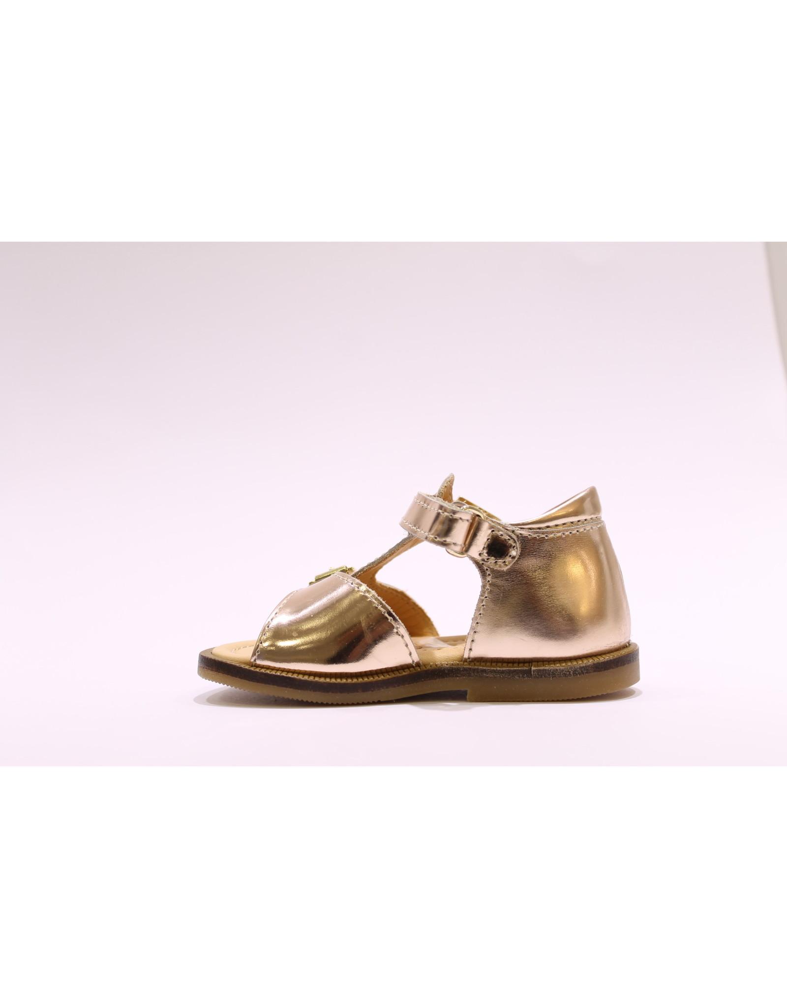 Ocra sandaal brons