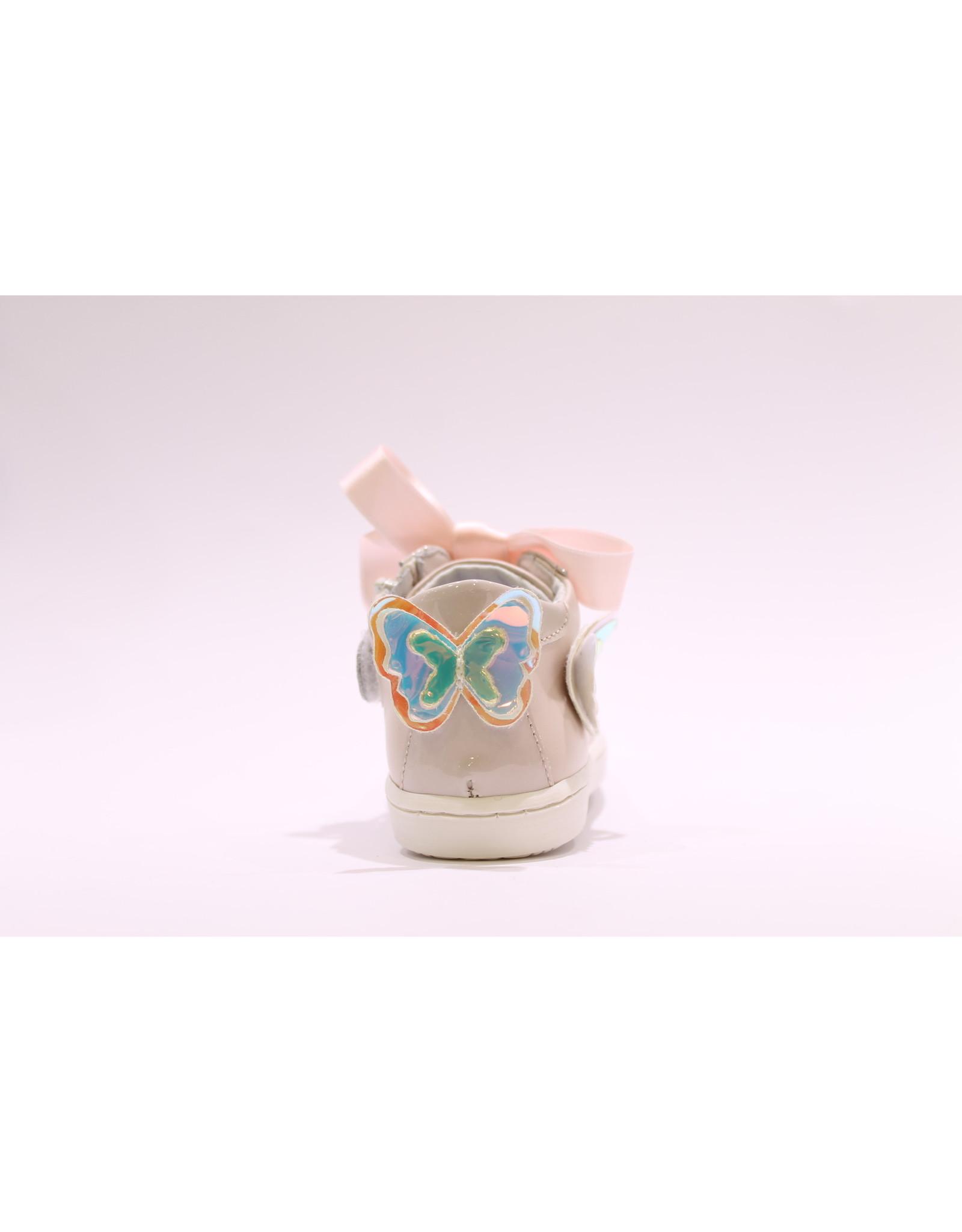 Chérie eerstestap roze/vlinder