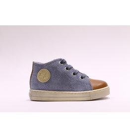 Falcotto sneaker cognac/jeans