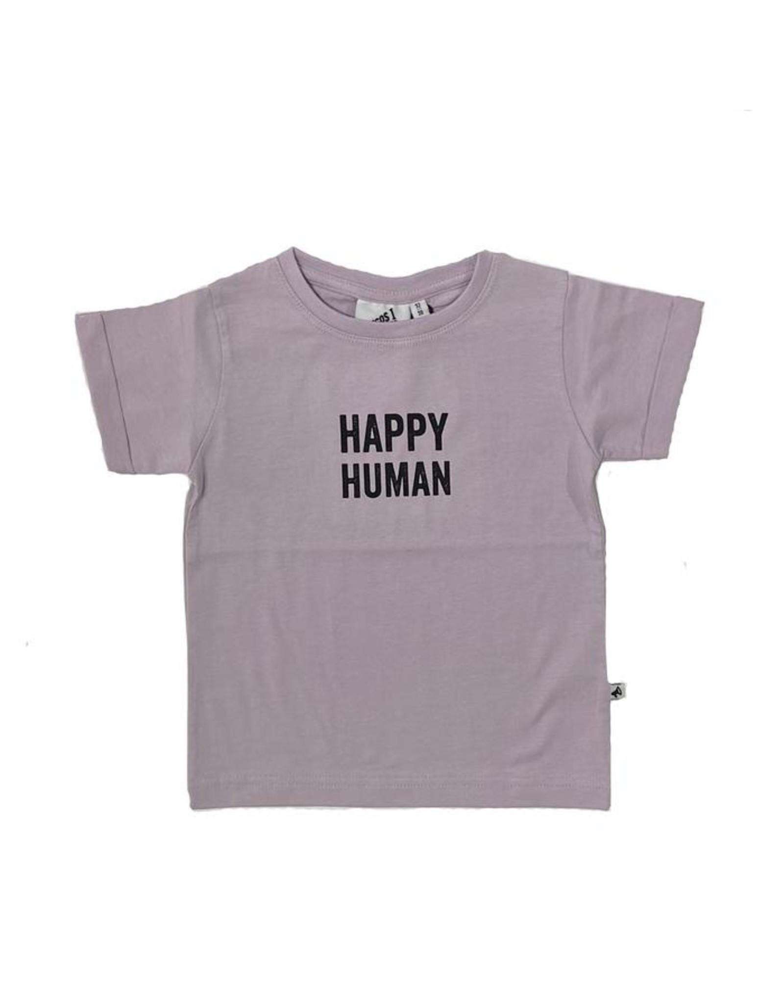 Cos I Said So t-shirt Happy Human lila