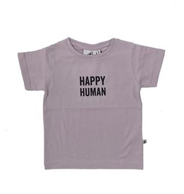 Cos I Said So t-shirt Happy Human lila