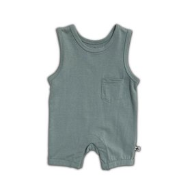 Cos I Said So sleeveles onesie tourmaline