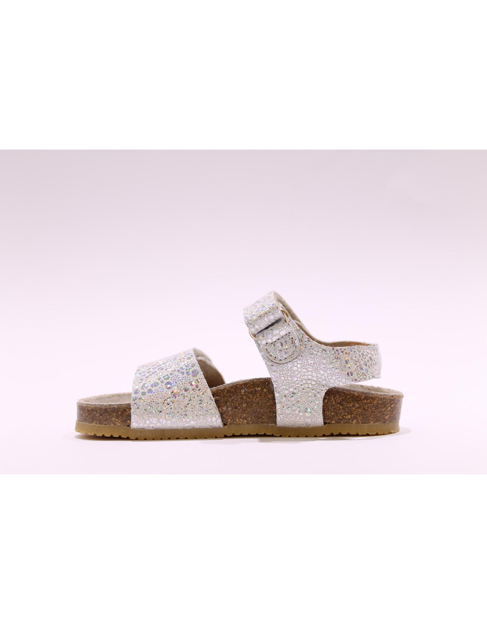 Lunella sandaal zilver/blink