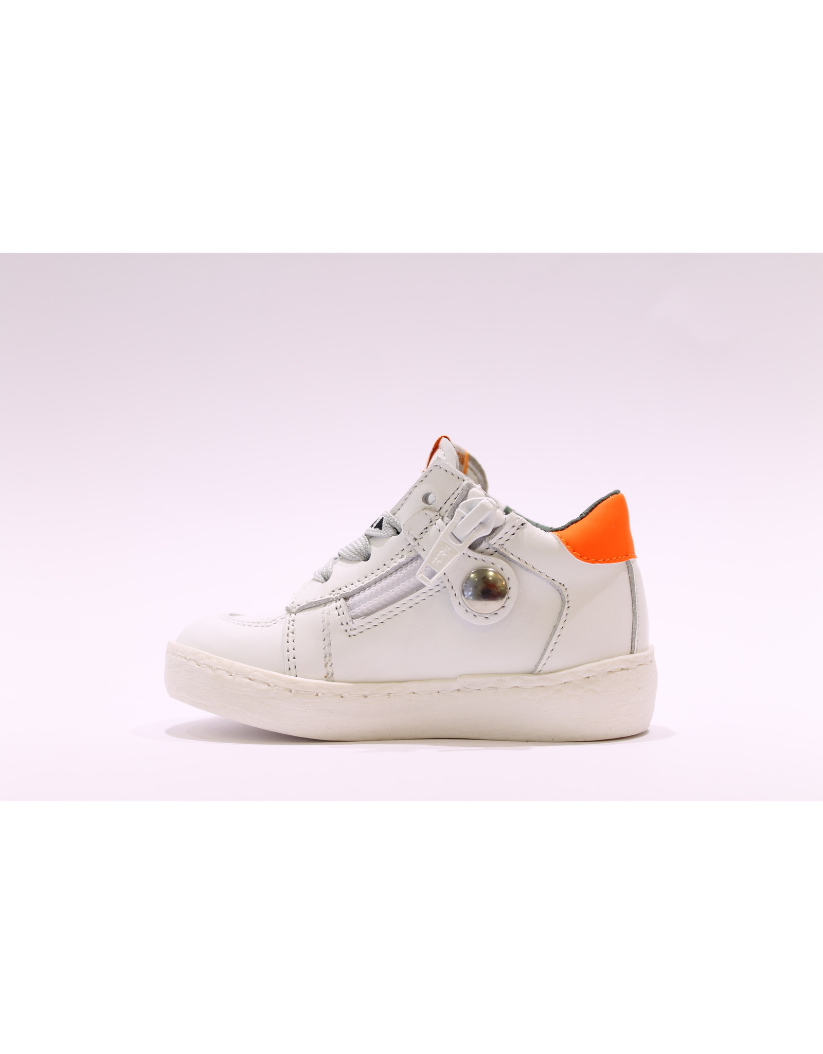Rondinella sneaker wit/ster/neon