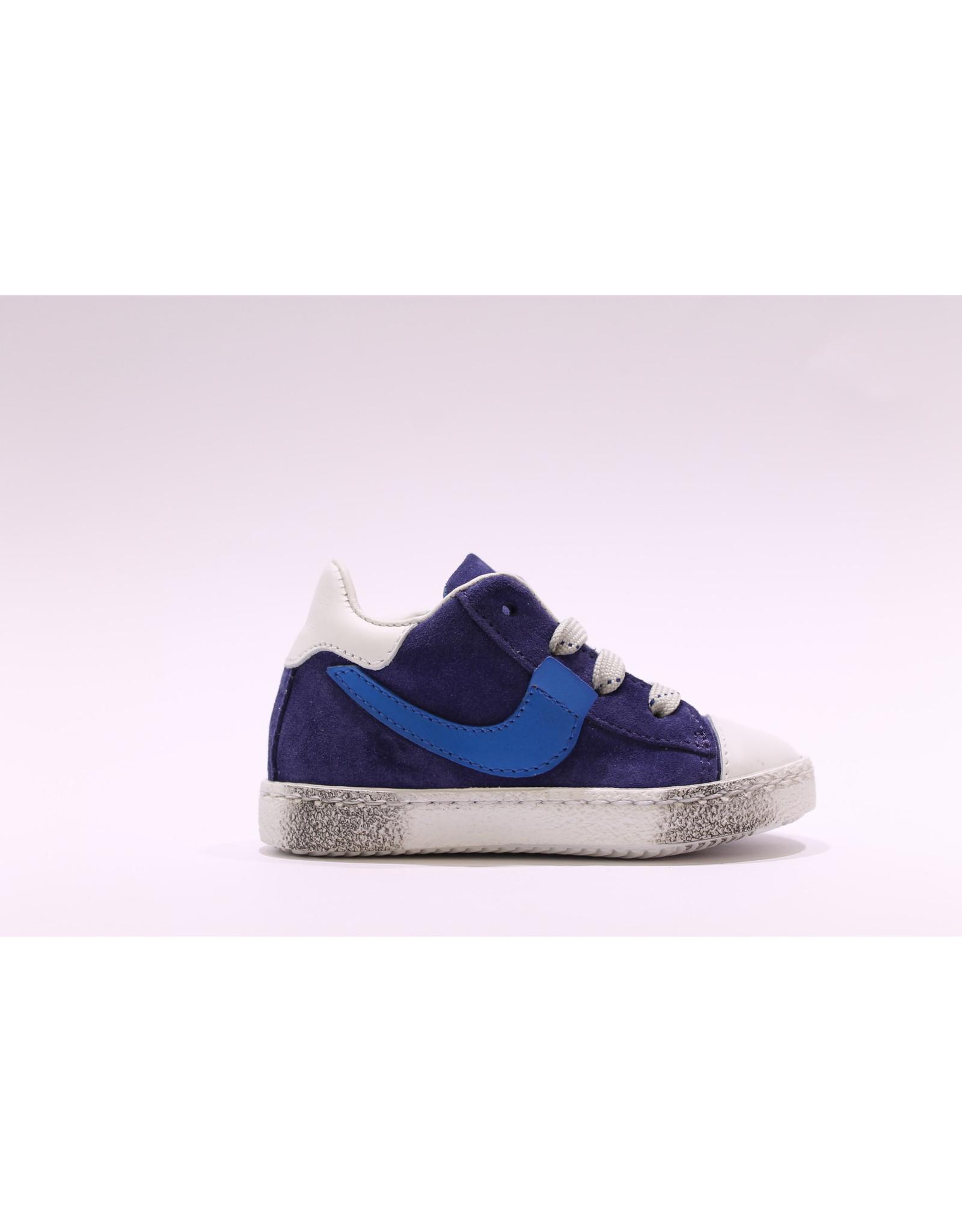 Rondinella sneaker hoog/blauw