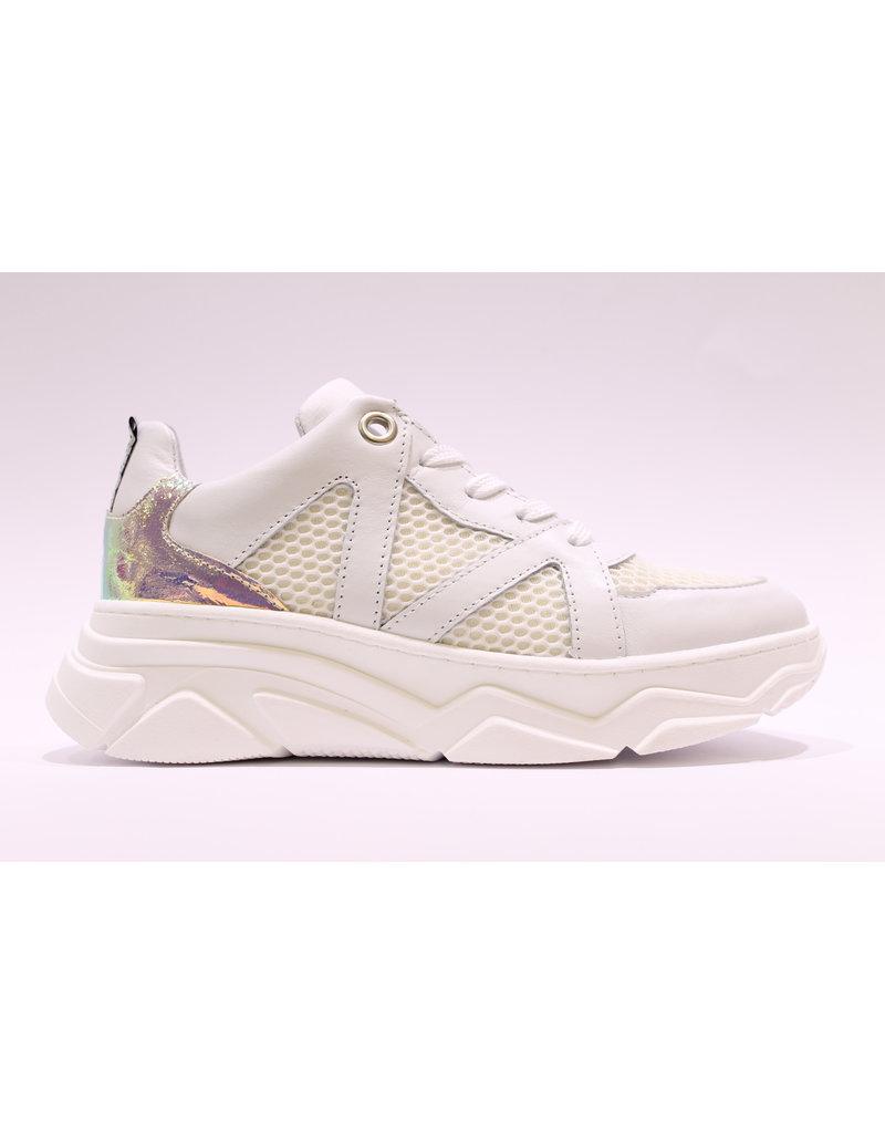 RedRag sneaker wit/zilver hiel