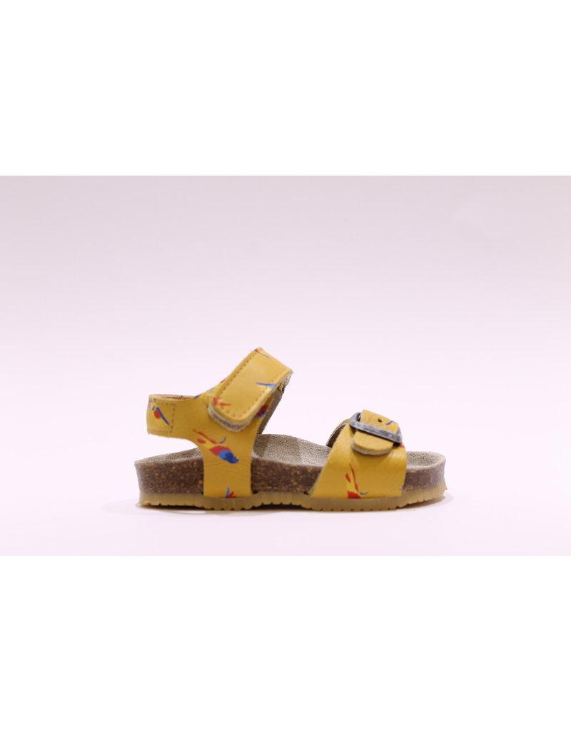 Lunella sandaal papegaai geel