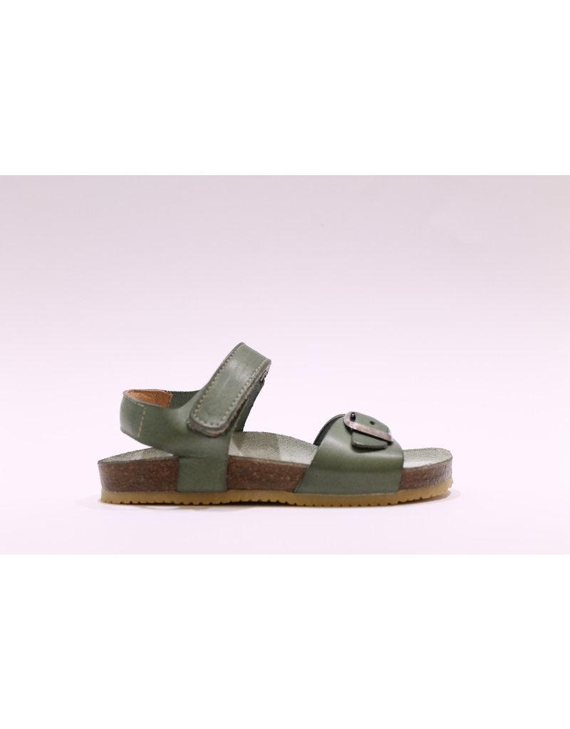 Lunella sandaal olijfgroen