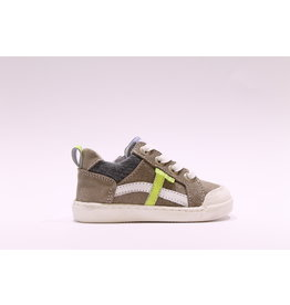 Develab sneaker laag taupe