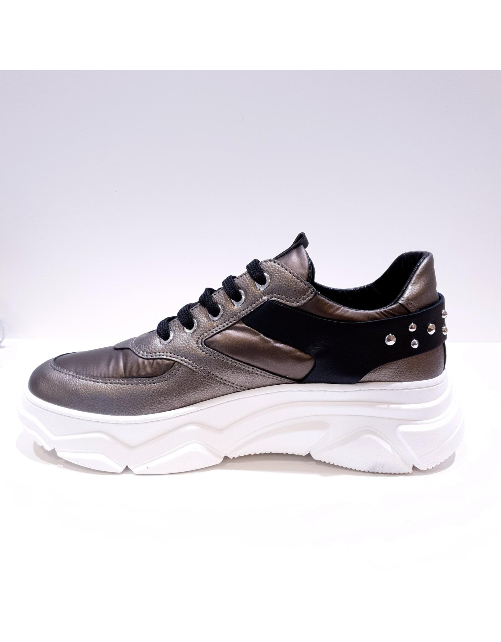 Andrea Morelli sneaker brons/zwart