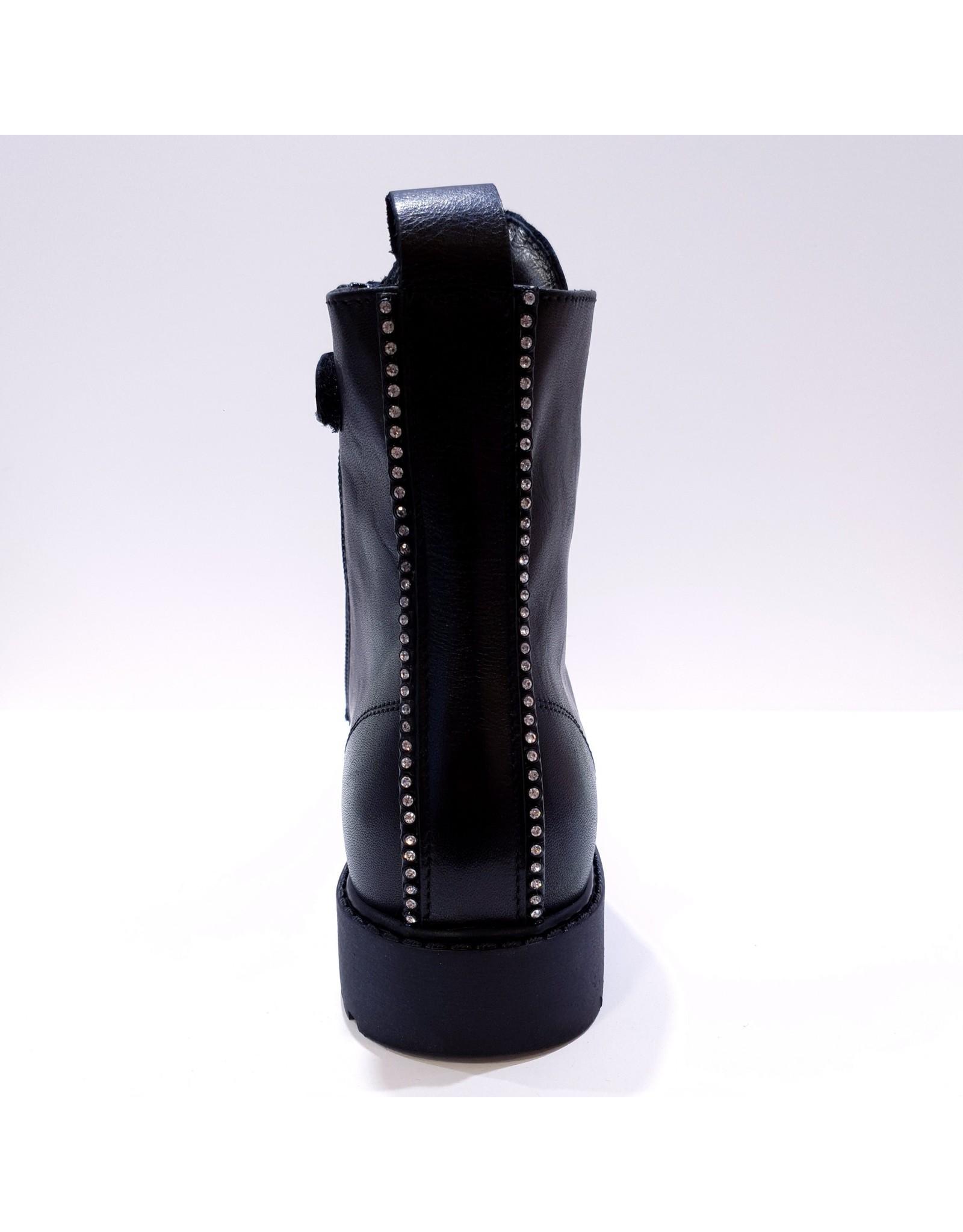 Andrea Morelli veterlaars black/studs