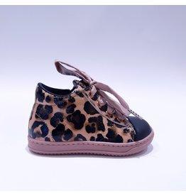 Rondinella sneaker leopard/roze