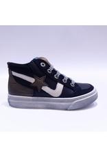 Lunella sneaker zwart/kaki