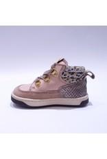 Ocra sneaker roze metalic/leopard