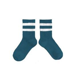 Collégien kousen sport blauw (joli paon)