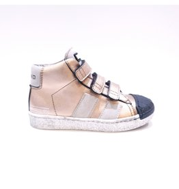 Momino sneaker velcro bronzo