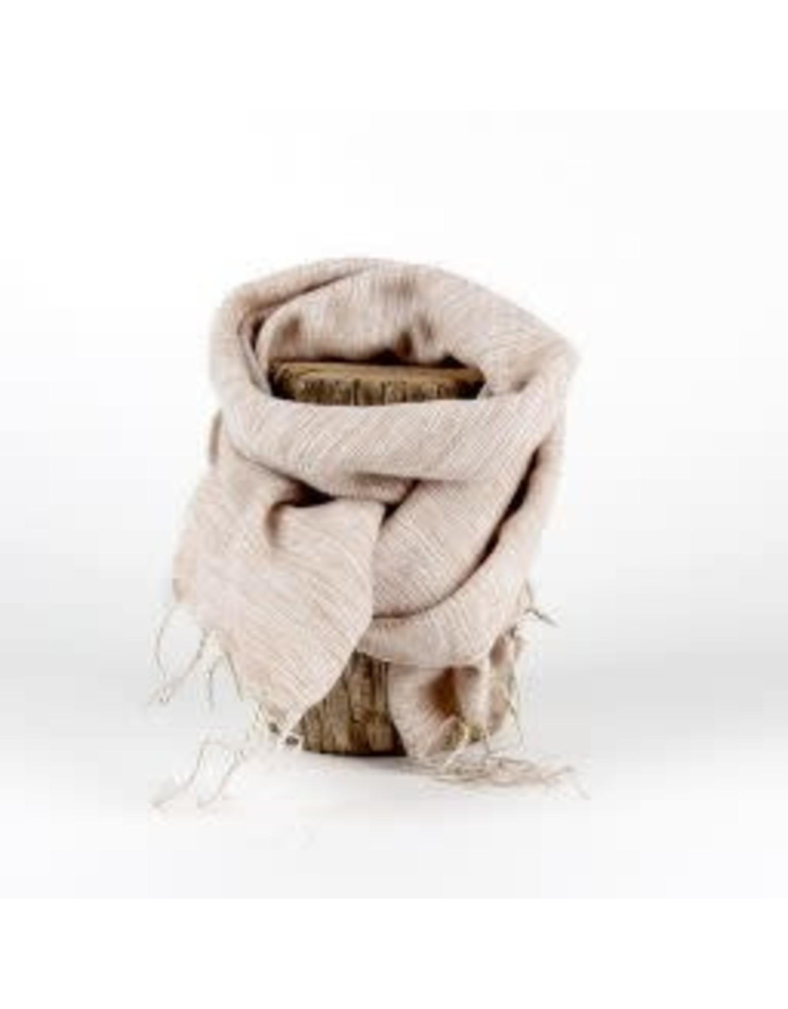 Sjaal met verhaal kids sjaal beige
