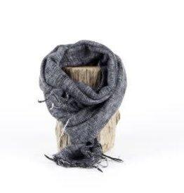 Sjaal met verhaal kids sjaal grijs