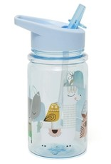 Petit Monkey drinkfles blue lama & friends
