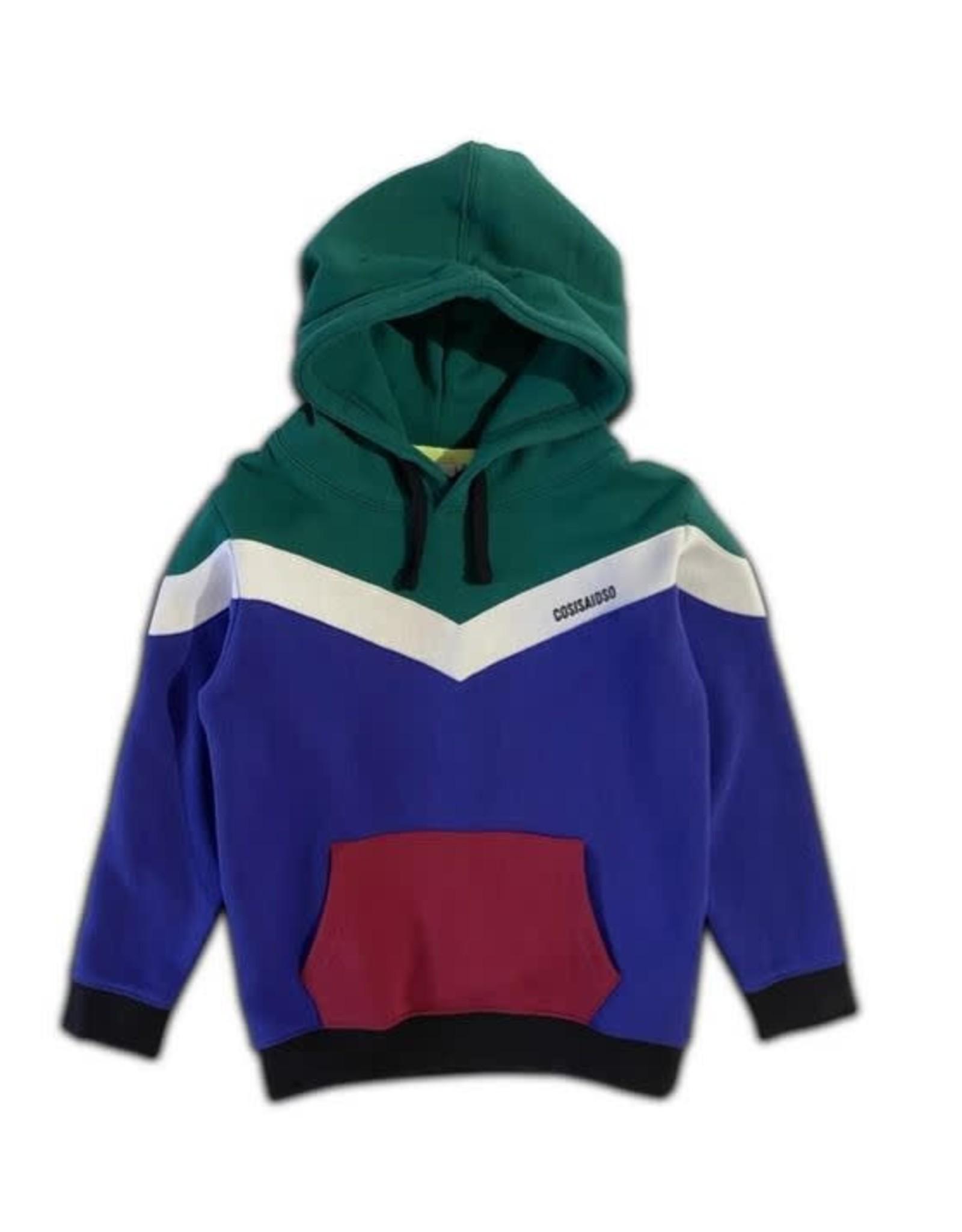 Cos I Said So colorblock hoodie alpine