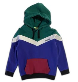 Cos I Said So colorblock hoodie alpine
