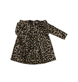 Petit by Sofie Schnoor dress gold leopard