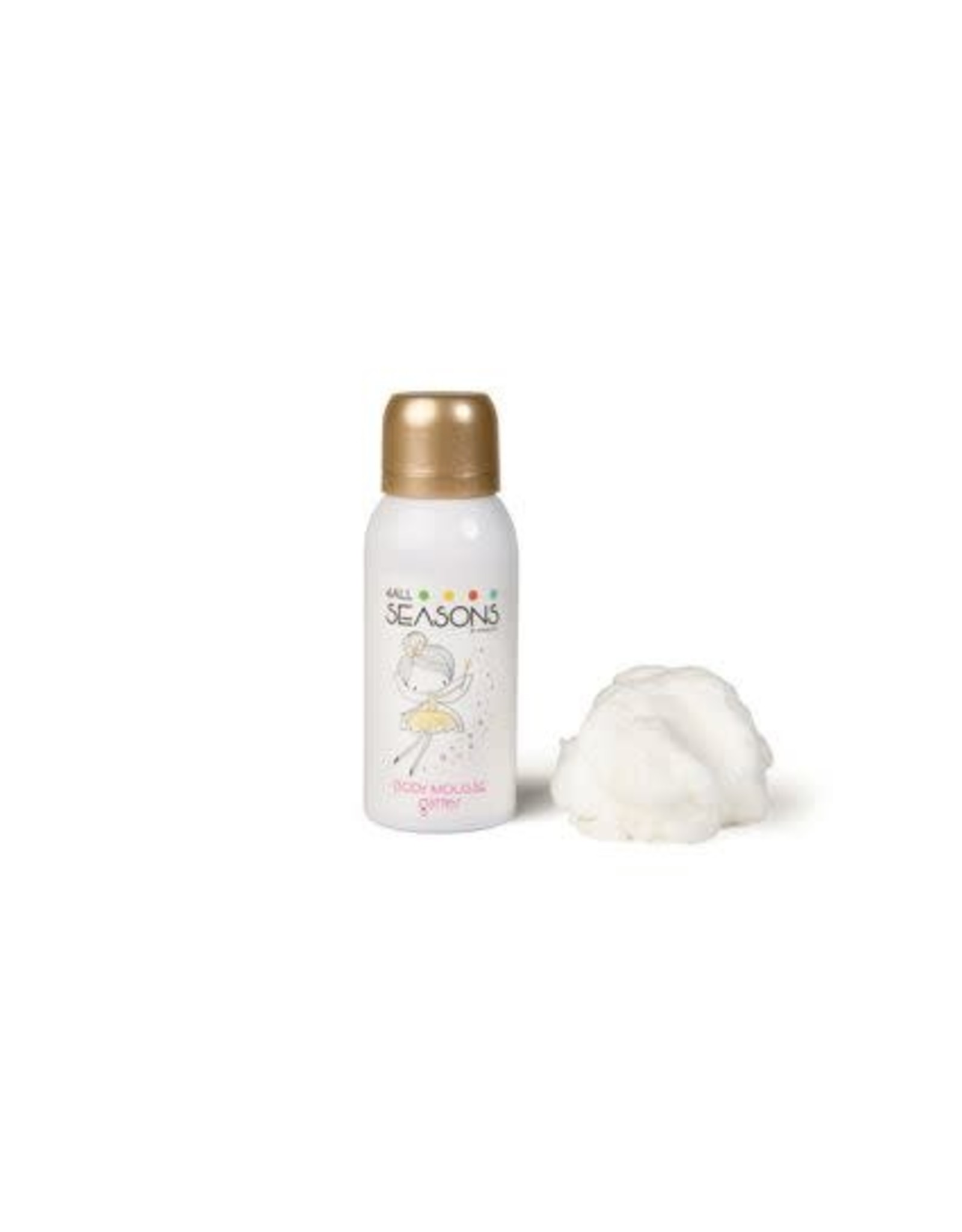 4all seasons Body mousse sparkling princess (glitter ) 100ml