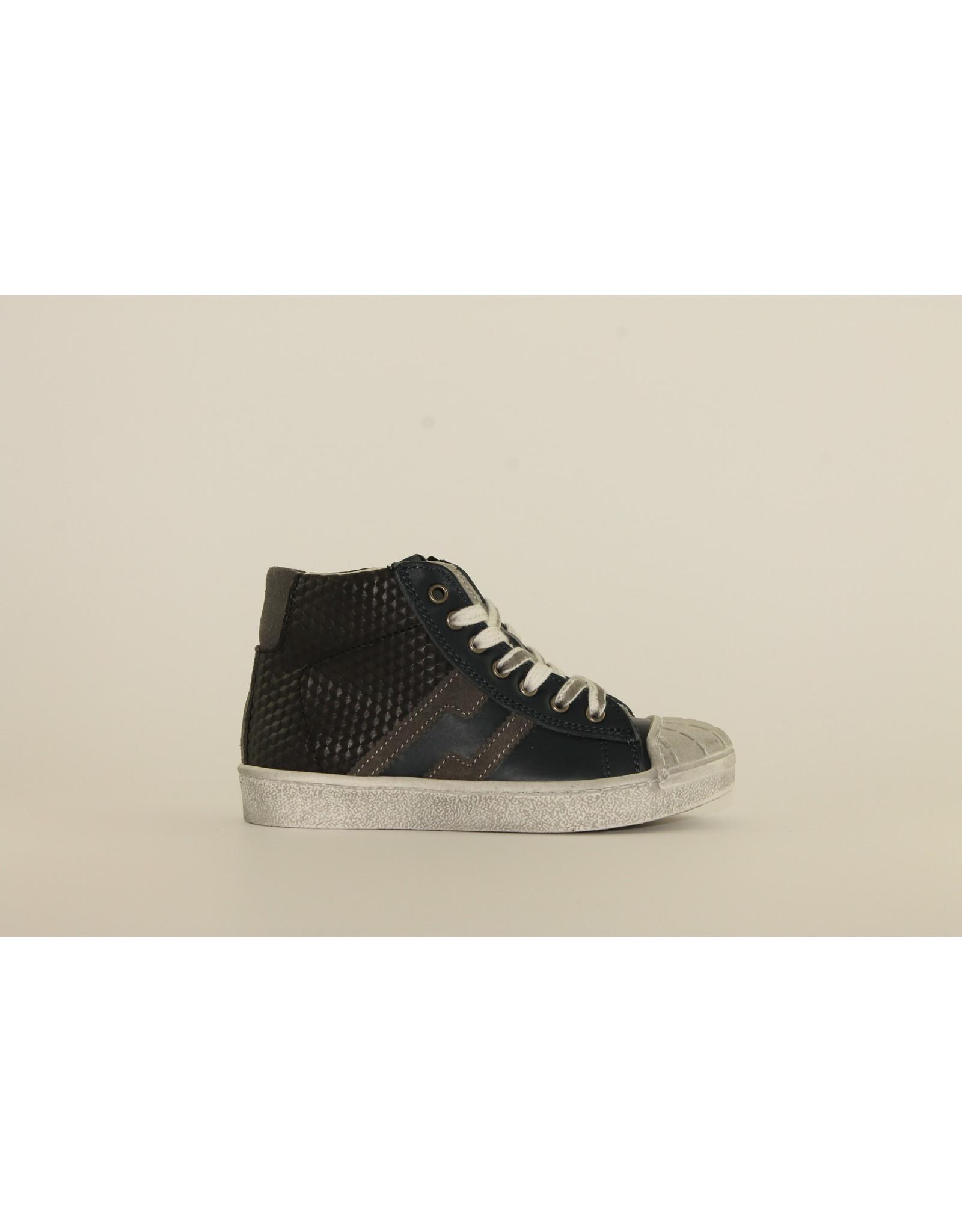 sho.e.b. sneaker blue/black