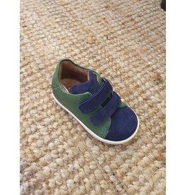 Walkey sneaker green/blue