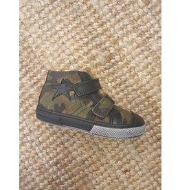 Lunella sneaker army velcro