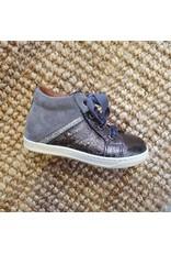 Walkey sneaker grijs/metalic
