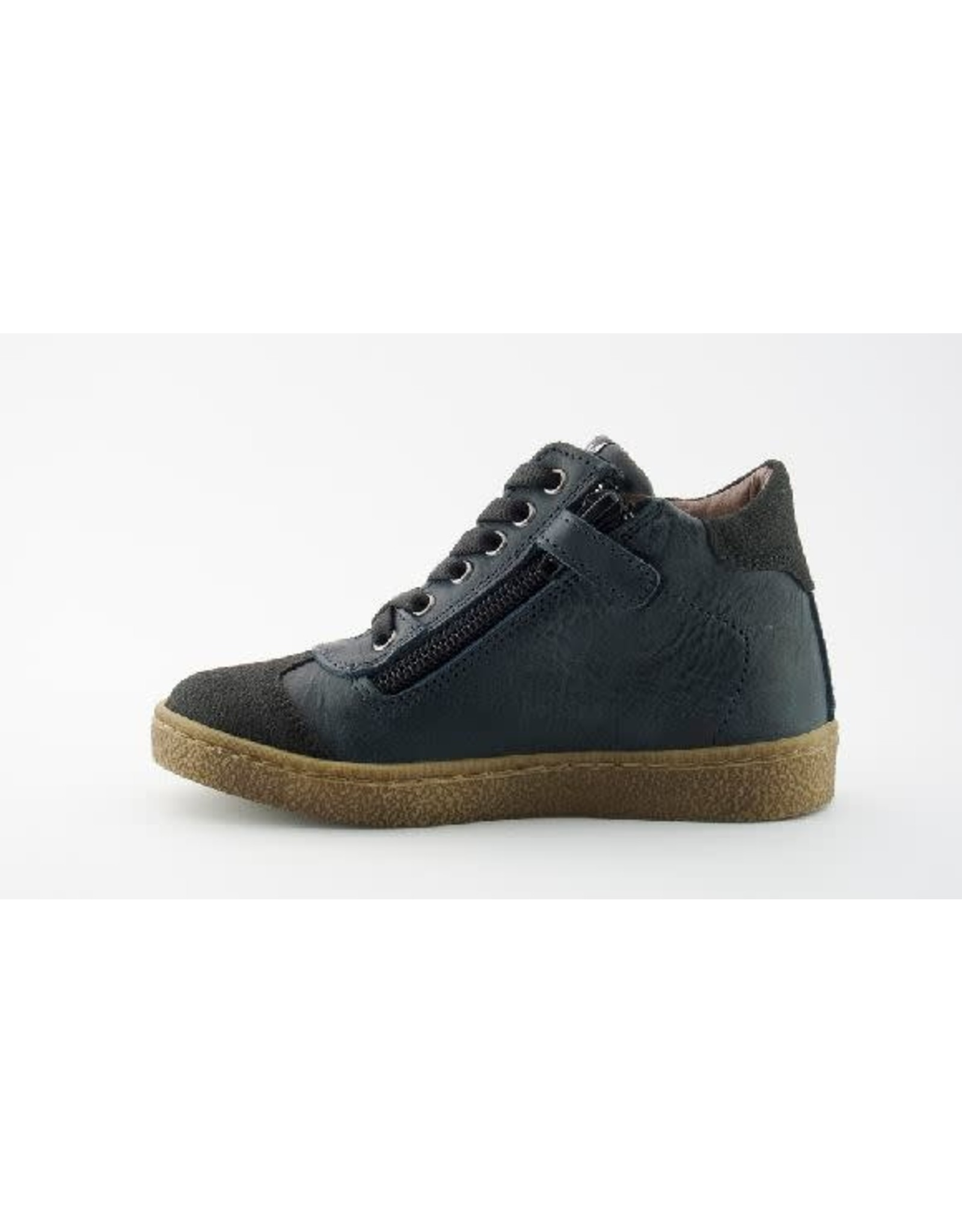sho.e.b. sneaker blauw/zwart